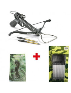 Pack Crossbow 80 Lbs + rope + arrows