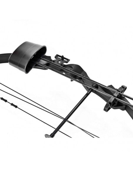 Compound bow 25 lbs black