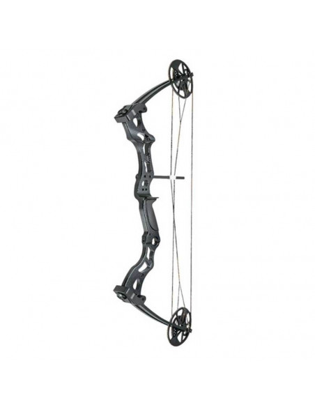 Compound bow 50 to 75 lbs black