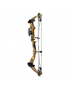 Compound bow 50 to 75 lbs camouflage
