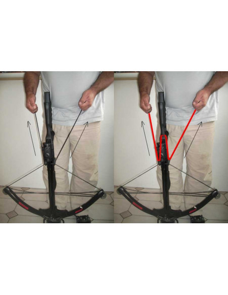 BOWSTRINGER - cocking Rope crossbow
