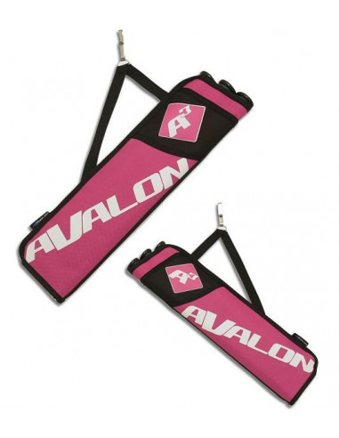 Pink quiver 3 tubes