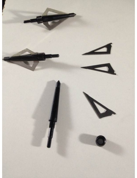 Broadheads for arrows 16 and 20 inches
