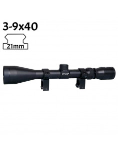 3-9x40 riflescope for crossbows 21mm rail