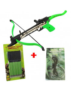 Pack Crossbow 80 lbs Cobra Zombie + rope + zombie arrows