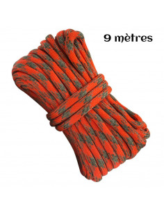 Flammable paracord 9 meters