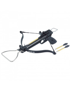 Mini crossbow 80 lbs black