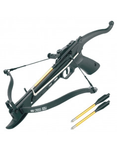 "Crossbow 80 lbs ""Cobra"" nero"