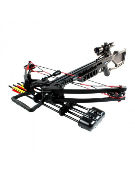 Crossbow 175 pounds to pulley - black