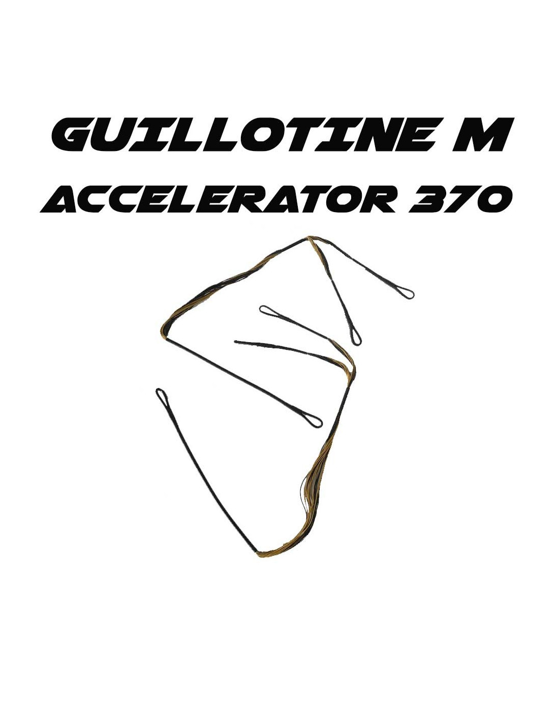 Replacement cable for EK Archery Guillotine-M and