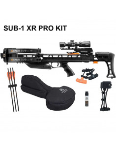 Armbrust Mission SUB-1 XR Pro-Kit Schwarz 200 lbs 410 FPS