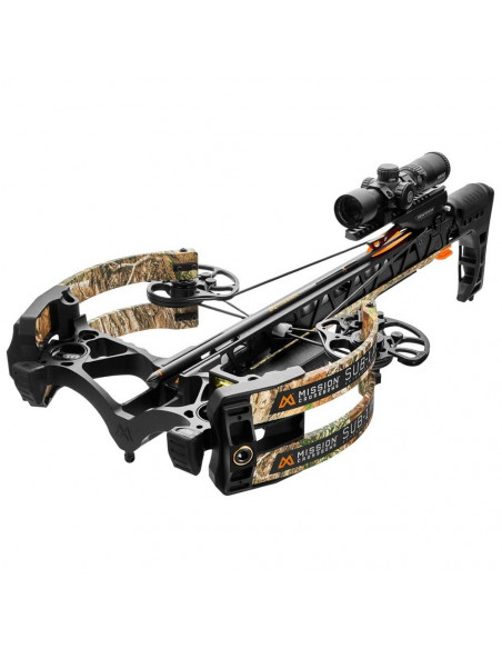 Crossbow Mission SUB-1 XR Pro-Kit Camo Real Tree 200 lbs 410 FPS