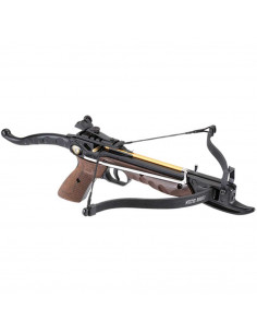 Pistol-Crossbow 80 lbs aluminum imitation wood