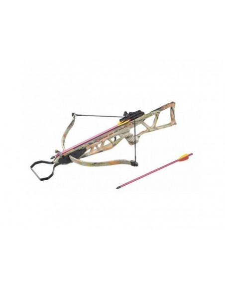 Crossbow 120 lbs foldable Color Camouflage