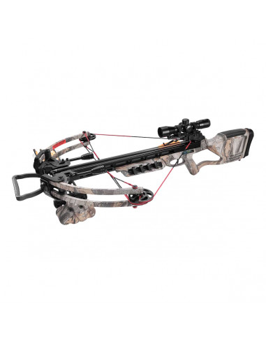 Compound crossbow 175 lbs 360 FPS - camouflage color