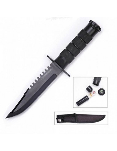 Survival knife 8 inches (20.3cm) Mini