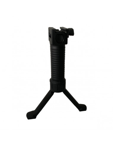 Front handle with integrated bipod...