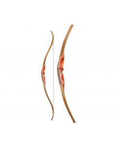 Ragim One Piece Fieldbow Mountain Lion 62 inches Recurve Bow