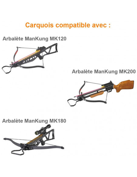 Camouflage Quiver for Crossbows Hattila