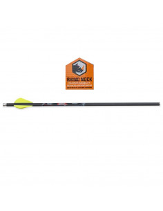 6 Quill 16.5 inch arrows...