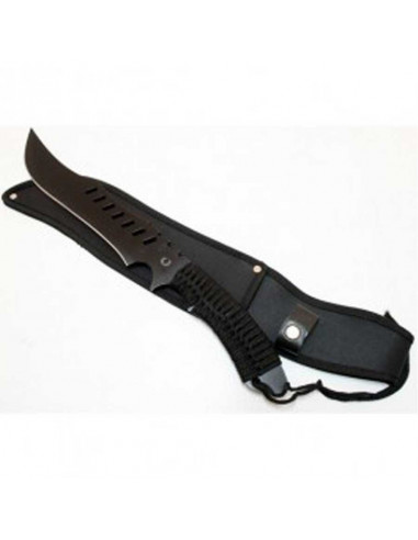 Machete 20.5 inches (51cm) with rope handle and nylon pouch