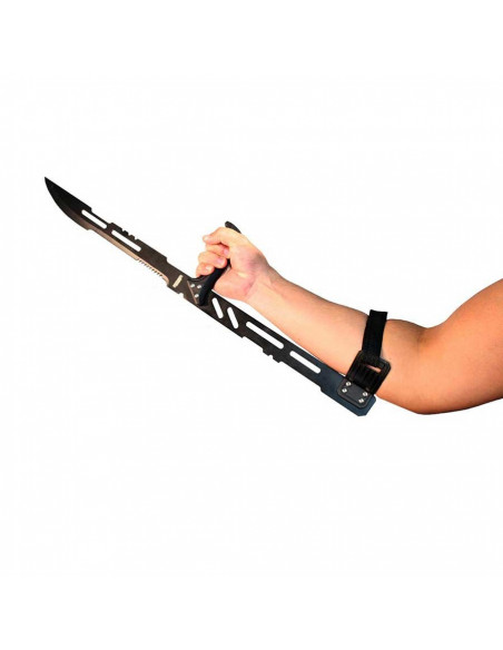Machete Full Tang 27 inches (69cm) with arm attachment