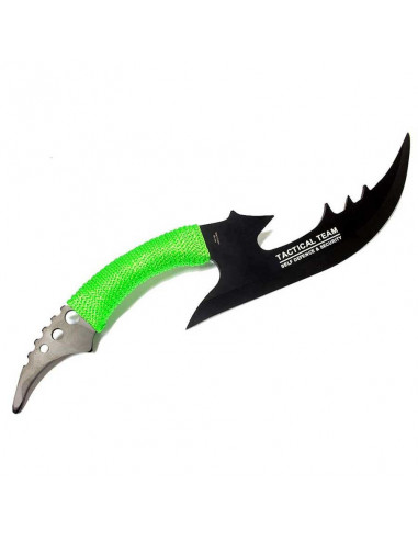 Machete Zombie War 15.5 inches (39cm) with rope handle and case